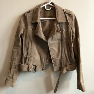 Blank NYC Suede Jacket XS